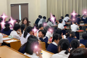 母校の第1回卒業生VISITセミナー